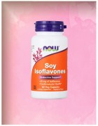 Soy Isoflavones, 60 раст. капсул, Now Foods